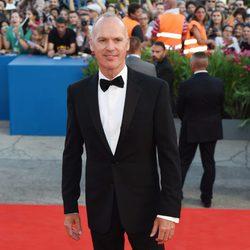 Michael Keaton en la ceremonia de apertura del Festival de Venecia 2014