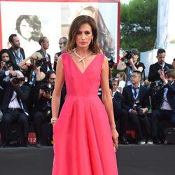 Nieves Álvarez en la ceremonia de apertura del Festival de Venecia 2014