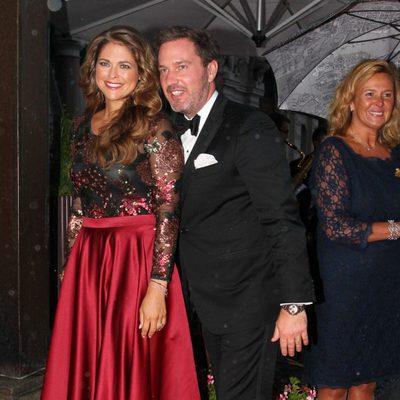 Magdalena de Suecia y Chris O'Neill en los Premios Polar Music 2014