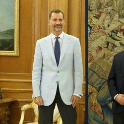 El Rey Felipe retoma su agenda oficial con una audiencia