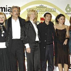Lluvia Rojo, Imanol Arias, Ana Duato, Roberto Cairo y Ana Arias
