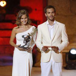 Natalia Sánchez y Marc Clotet en los Premios Ceres 2014