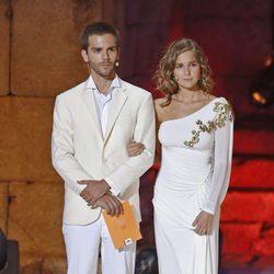 Marc Clotet y Natalia Sánchez en los Premios Ceres 2014