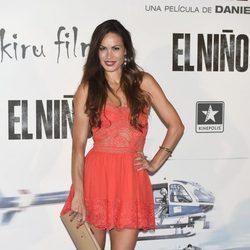 Mireia Canalda en el estreno de 'El Niño'