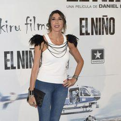 Paz Padilla en el estreno de 'El Niño'