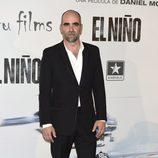 Luis Tosar en el estreno de 'El Niño'
