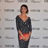 Maria Grazia Cucinotta en la fiesta organizada por Vanity Fair y Chopard en el Festival de Venecia 2014