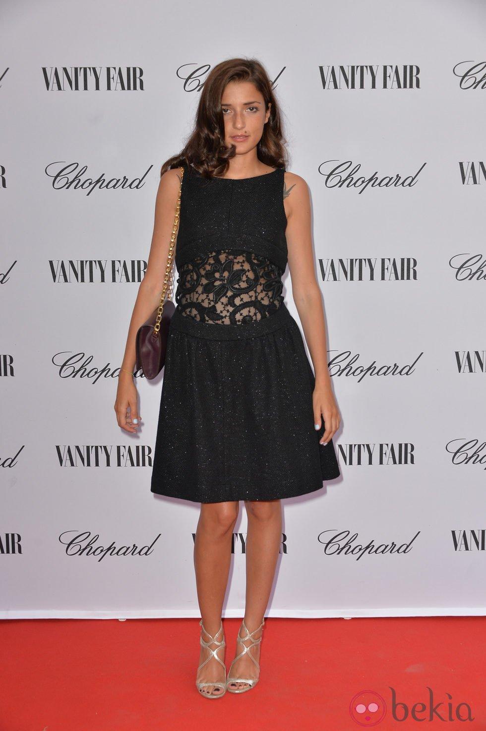 Eleonora Carisi en la fiesta organizada por Vanity Fair y Chopard en el Festival de Venecia 2014