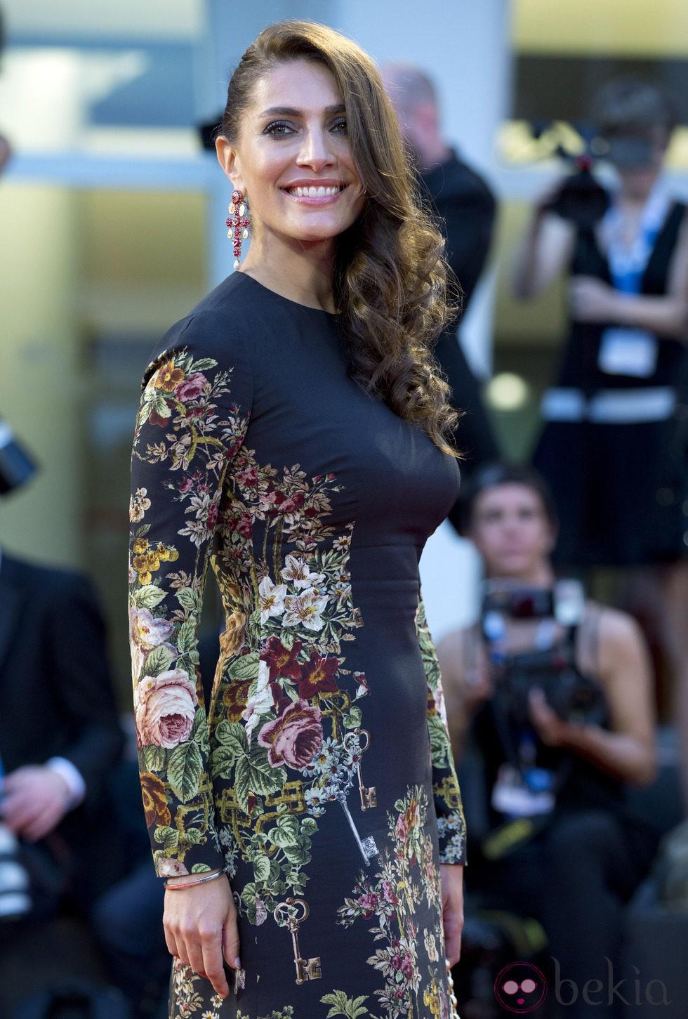 Caterina Murino en la presentación de 'Hungry Hearts' en el Festival de Venecia 2014