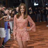 Michelle Jenner en el estreno de 'Isabel' en el FesTVal de Vitoria 2014