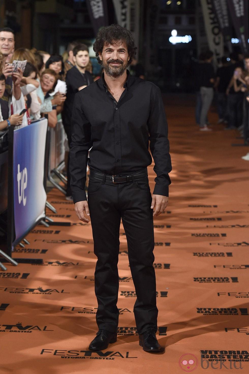 Rodolfo Sancho en el estreno de 'Isabel' en el FesTVal de Vitoria 2014