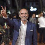 Fernando Guillén Cuervo feliz en el estreno de 'Isabel' en el FesTVal de Vitoria 2014