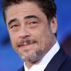 Benicio del Toro en el estreno de 'Guardianes de la Galaxia' en Los Ángeles