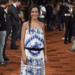 Sandra Blázquez en el estreno de 'Vive cantando' en el FesTVal de Vitoria 2014