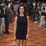 Alejandra Andrade en el estreno de 'Vive cantando' en el FesTVal de Vitoria 2014