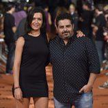 Alejandra Andrade y Jalis de la Serna en el estreno de 'Vive cantando' en el FesTVal de Vitoria 2014