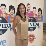 Samantha Vallejo-Nájera en la presentación de 'Masterchef Junior 2' en el FesTVal 2014