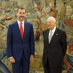 El Rey Felipe recibe en audiencia al presidente del Consejo de Estado