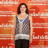 Chus Gutiérrez en el estreno de 'Ciudad Delirio'
