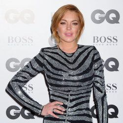 Lindsay Lohan en los Premios GQ Hombres del Año 2014