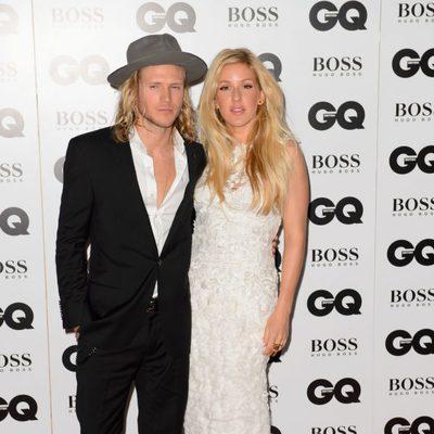 Dougie Poynter y Ellie Goulding en los Premios GQ Hombres del Año 2014