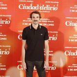 Julián Villagrán en el estreno de 'Ciudad Delirio'