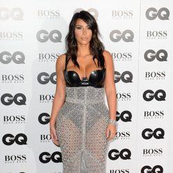 Kim Kardashian en los Premios GQ Hombres del Año 2014