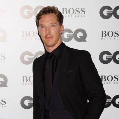 Benedict Cumberbatch en los Premios GQ Hombres del Año 2014