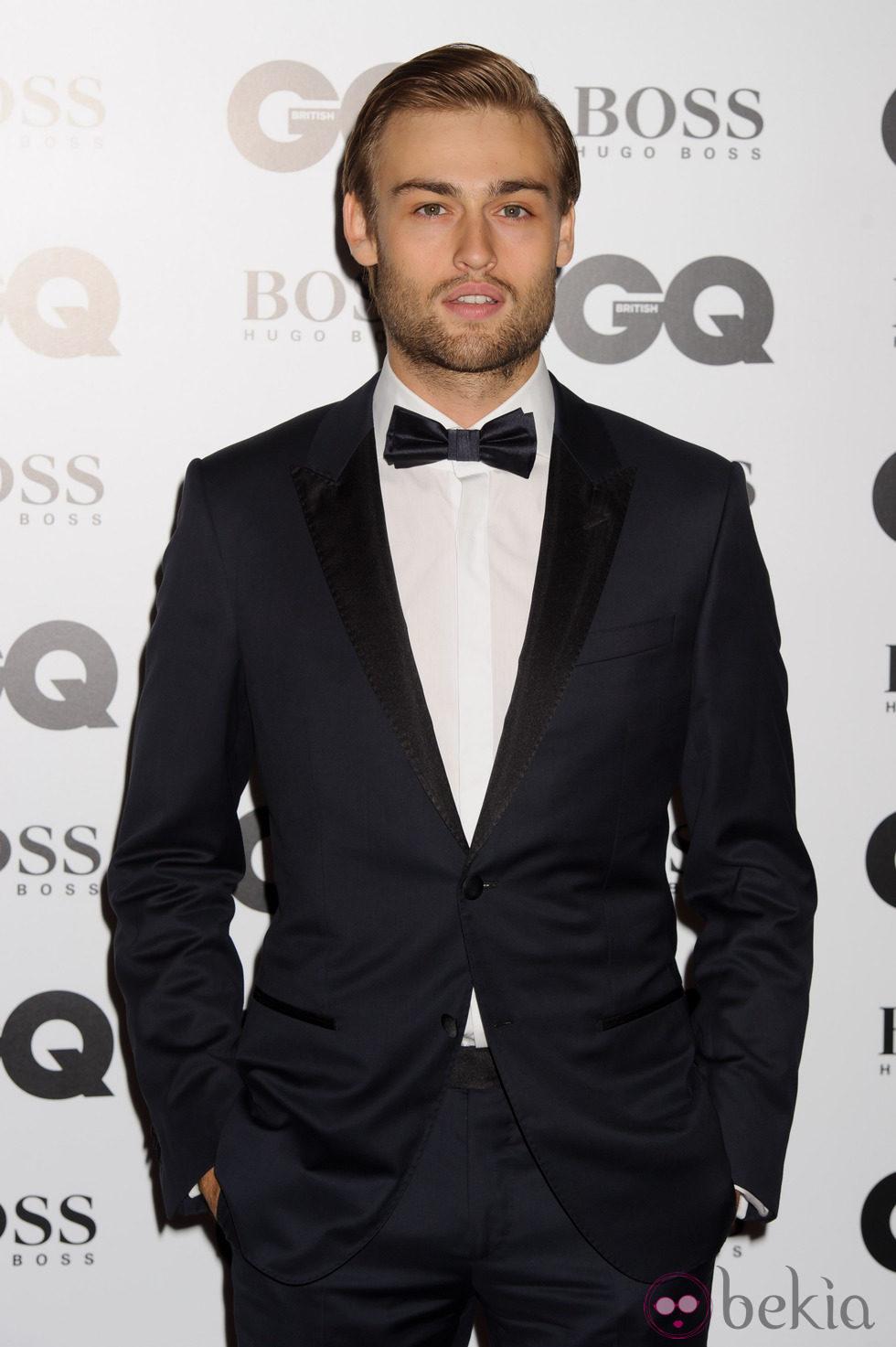 Douglas Booth en los Premios GQ Hombres del Año 2014