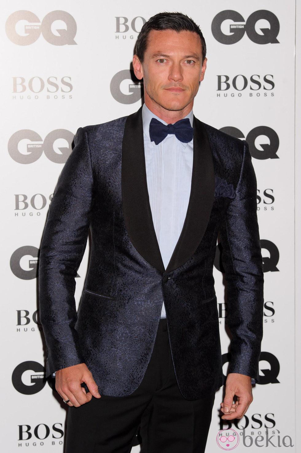 Luke Evans en los Premios GQ Hombres del Año 2014