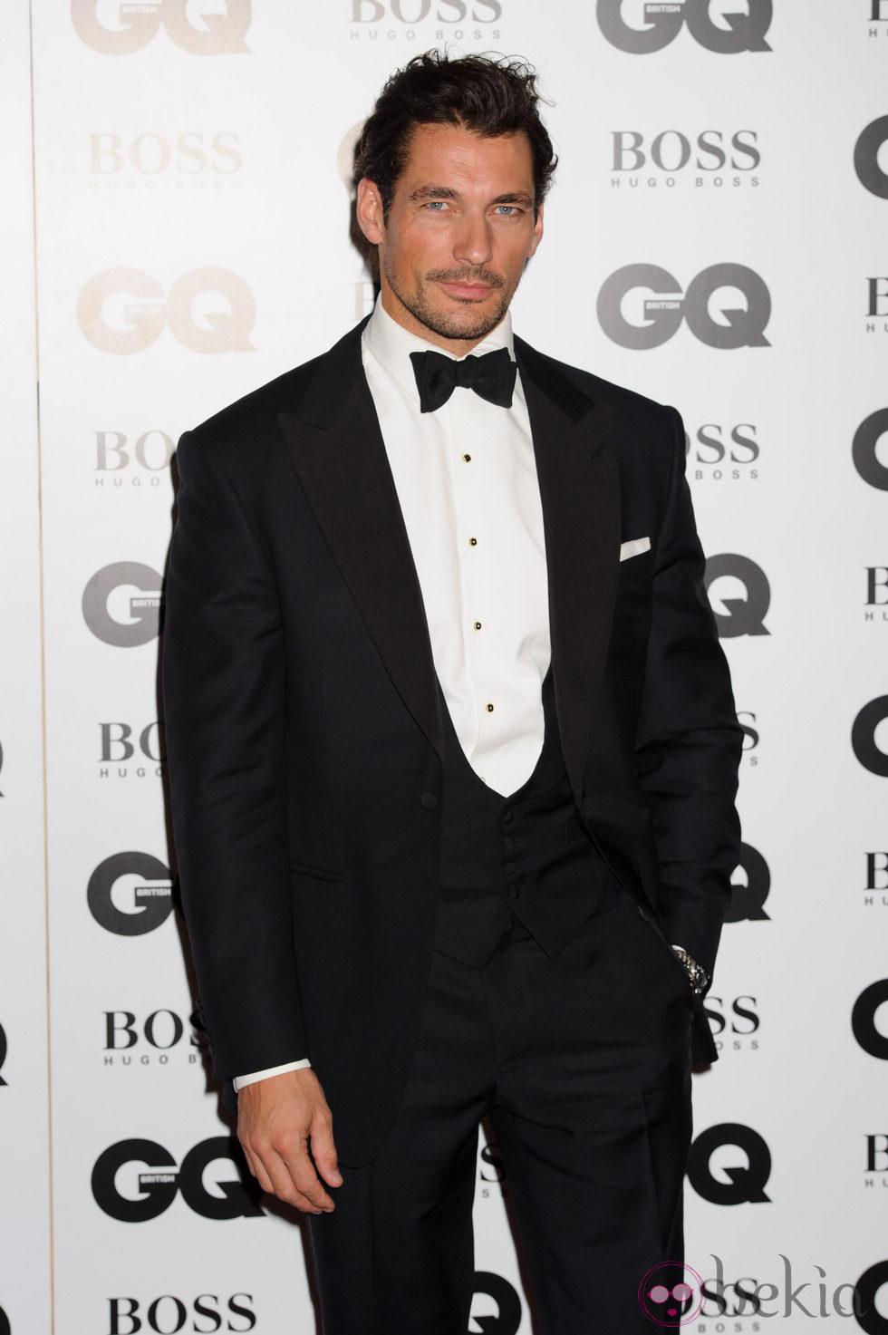 David Gandy en los Premios GQ Hombres del Año 2014