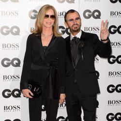 Ringo Starr y Barbara Bach en los Premios GQ Hombres del Año 2014