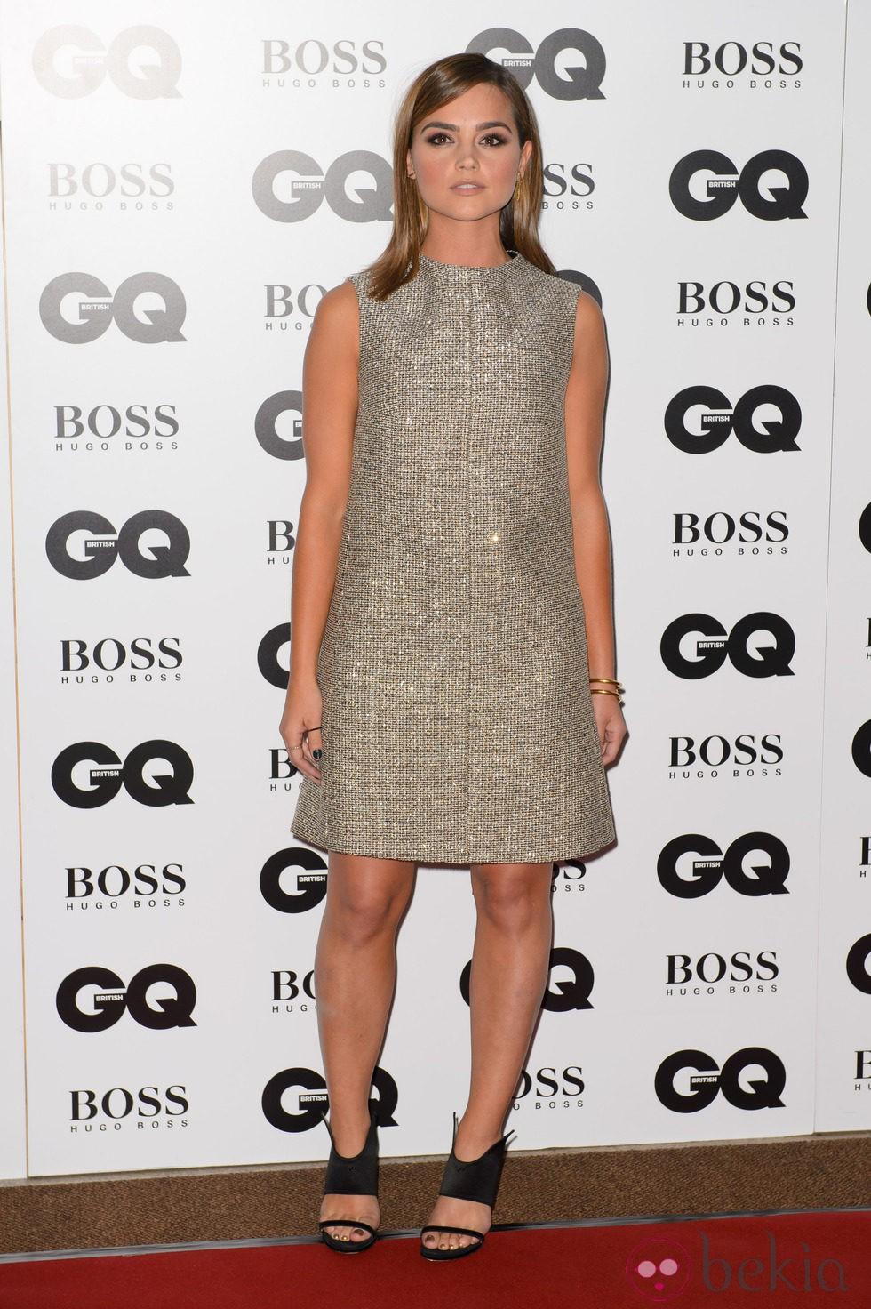Jenna Coleman en los Premios GQ Hombres del Año 2014