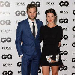 Jamie Dornan y Amelia Warner en los Premios GQ Hombres del Año 2014