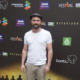 Will Keen en la presentación de 'Refugiados' en el FesTVal de Vitoria 2014