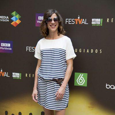 Natalia Tena en la presentación de 'Refugiados' en el FesTVal de Vitoria 2014
