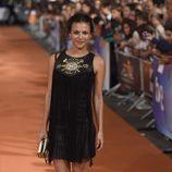Elisa Mouliaá en el estreno de la sexta temporada de 'Águila Roja' en el FesTVal 2014
