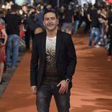 Santiago Molero en el estreno de la sexta temporada de 'Águila Roja' en el FesTVal 2014