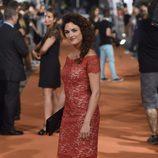 Eliana Sánchez en el estreno de la sexta temporada de 'Águila Roja' en el FesTVal 2014