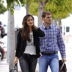 Iker Casillas y Sara Carbonero salen a comer