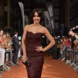 Megan Montaner en el estreno de 'Bajo Sospecha' en el FesTVal de Vitoria 2014