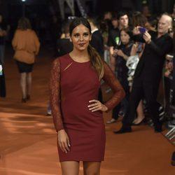 Cristina Pedroche en el estreno de 'Bajo Sospecha' en el FesTVal de Vitoria 2014