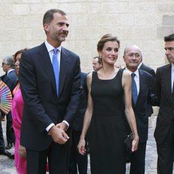 Los Reyes Felipe y Letizia en su primer acto oficial juntos tras pasar su primer verano como Reyes de España