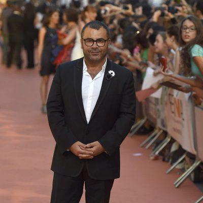 Jorge Javier Vázquez en la alfombra roja de la clausura del FesTVal de Vitoria 2014