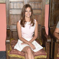 Michelle Jenner en la presentación de 'Isabel' en el FesTVal de Vitoria 2014