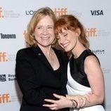Liv Ullmann y Jessica Chastain en el estreno de 'Miss Julie' en el Festival de Toronto 2014
