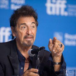 Al Pacino en la presentación de 'Manglehorn' en el Festival de Toronto 2014