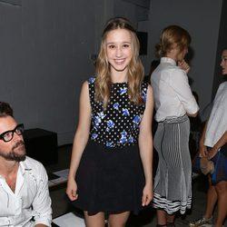 Taissa Farmiga en la Semana de la Moda de Nueva York Primavera/Verano 2015