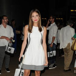 Allison Williams en la Semana de la Moda de Nueva York Primavera/Verano 2015