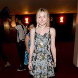 Dakota Fanning en la ceremonia de apertura de la Semana de la Moda de Nueva York Primavera/Verano 2015